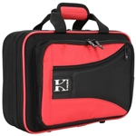 Kaces Clarinet Case, Red