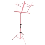 Folding Music Stand with Bag, Pink