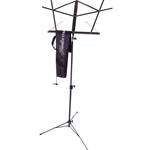 Folding Music Stand with Bag, Black