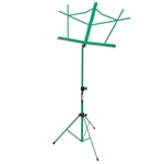 Folding Music Stand with Bag, Green